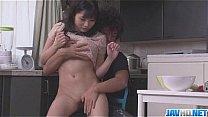 Mari Ariyasu smashing adventure on cam with her hubby