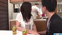 Hot japan girl Sanae Akino suck a dick