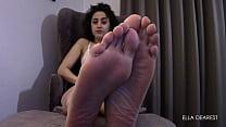 Worship Ella Dearest Slender Feet & Long Toes