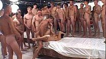 50 guys cream pie hot bruenette