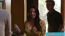 Slut babe fucks her friends husband