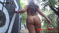 A Brazilian milf  mature  woman naked on the street      Alessandra Maia  Rubens Badaro