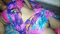 desi saari woman enjoy in room