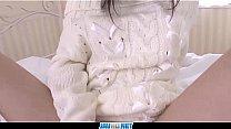 Subtitles - Japanese teen Arisa Nakano feels big dick