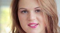European teen Nika O takes off her clothes on camera