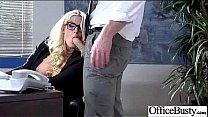 Busty Girl Fucks Hardcore In Office (julie cash) clip-18