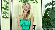 ThisGirlSucks blonde teen Casi James handjob blowjob cock facial cumshot
