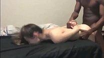 Boyfriend Films His Young Gf viene scopata sgarbatamente dal suo primo ragazzo nero