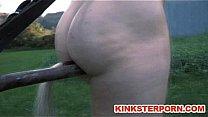 Ponyslave Pervert BDSM Outdoor Training