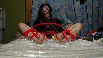 self-bondage masturbation climax really