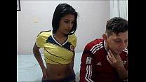 Colombian couple having fun on webcam camsmi.com
