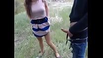 Девушка жаждет анального секса с парнем на природе - uzb-seks.ru