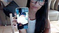 petite latina danika mori play in front of webcam!!