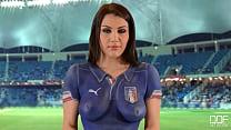 Sexi Italian Babe World Cup -  www.cams4sex.xyz