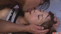 Hot japanese girl Maomi Nakazawa gives a deliberately oral sex and fuck
