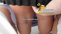 Bokep Top Groping Video / Under dress Fingering in train