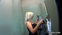 Glamorous czech nympho is teased in the mall and penetrated in pov
