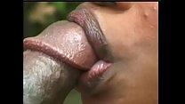 Bokep Hot black whore Kenya XXXtakes massive ebony dick outdoor doggystyle
