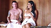 Brazzers - Mommy Got Boobs - ( Makayla Cox, Mr. Pete) - Sneaky Sauna Mama