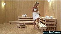 Hot Mean Lesbians In Hard Punishment Sex Scene clip-17