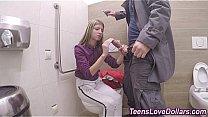 Real teenager nailed cash