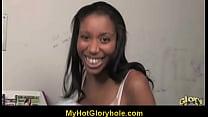 Gloryhole Initiating Ebony Babe 15