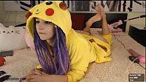 purple-bitch.com/chaturbate (Super Cute Pikachu Girl)