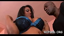 Bokep Busty black woman's titties sucked