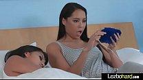 Teen Lesbo Girls (Jade Dylan & Aubrey Rose) Play On Camera In Sex Act vid-13