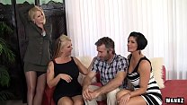 WANKZ- Group Sex with Hot Cougar MILFs