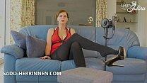 Bokep ASMR Erfahrung für Strumpfhosen Füße Heels Verehrer von Domina Lady Julina