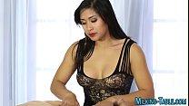Asian masseuse pounded