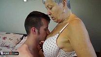 Grandmas got hardcore fuck and toys masturbation