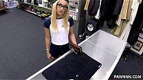 blonde pawn shop creampie