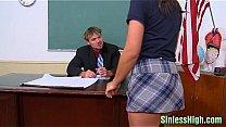 brunette schoolgirl slut Paysley
