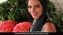 CARNE DEL MERCADO - Colombiana joven pervertida de 18 años recogida y follada