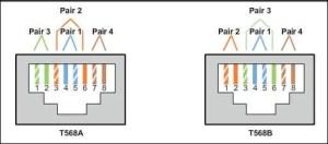 Cat6 Data Jack Wiring | Wiring Diagram