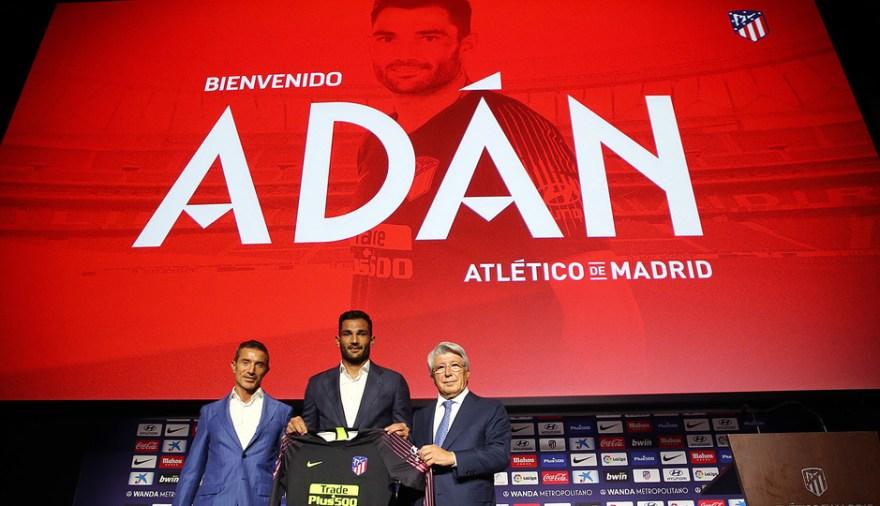 Club Atlético de Madrid · Web oficial - ¡Así vivimos la presentación de Antonio  Adán en el auditorio del Wanda Metropolitano!