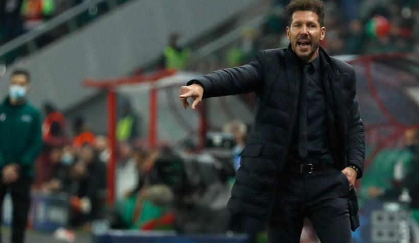 Simeone: «Faltó el gol, pero vamos por buen camino»