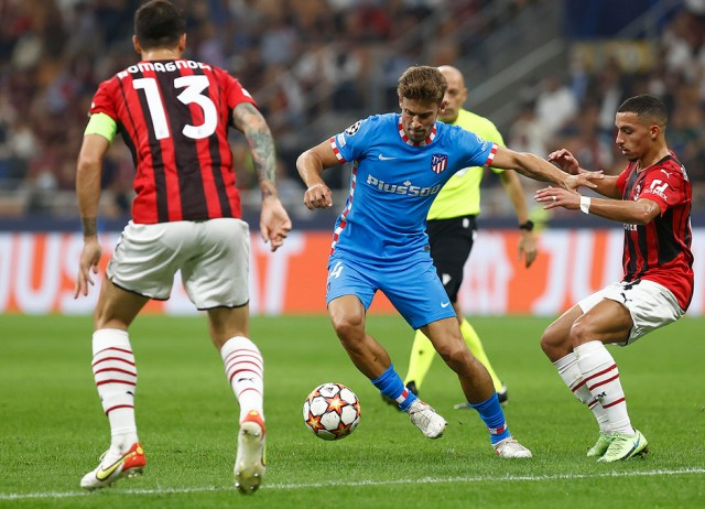 Temporada 2021/22 | Champions League | AC Milan - Atleti | Llorente