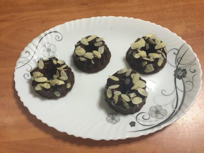 Японские шоколадные пончики