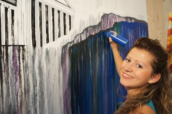 Эми Шаклтон. Картины, написанные гравитацией.