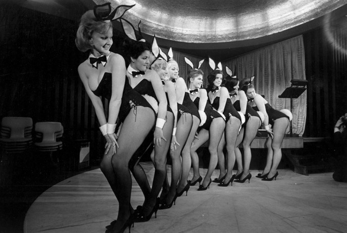 Гнездо разврата: Лондонский Playboy Club отмечает 50 летний юбилей (исторические фото)