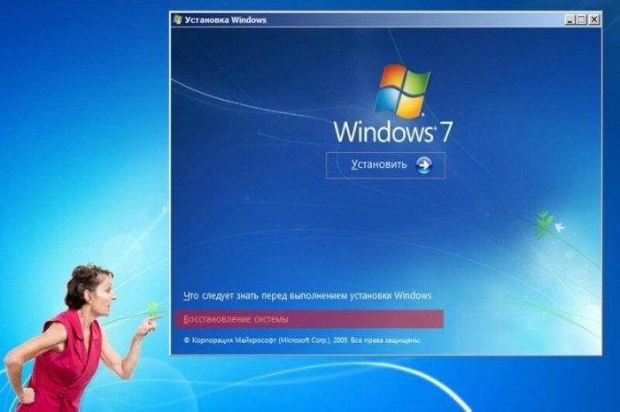 Как откатить Windows 7 после сбоя