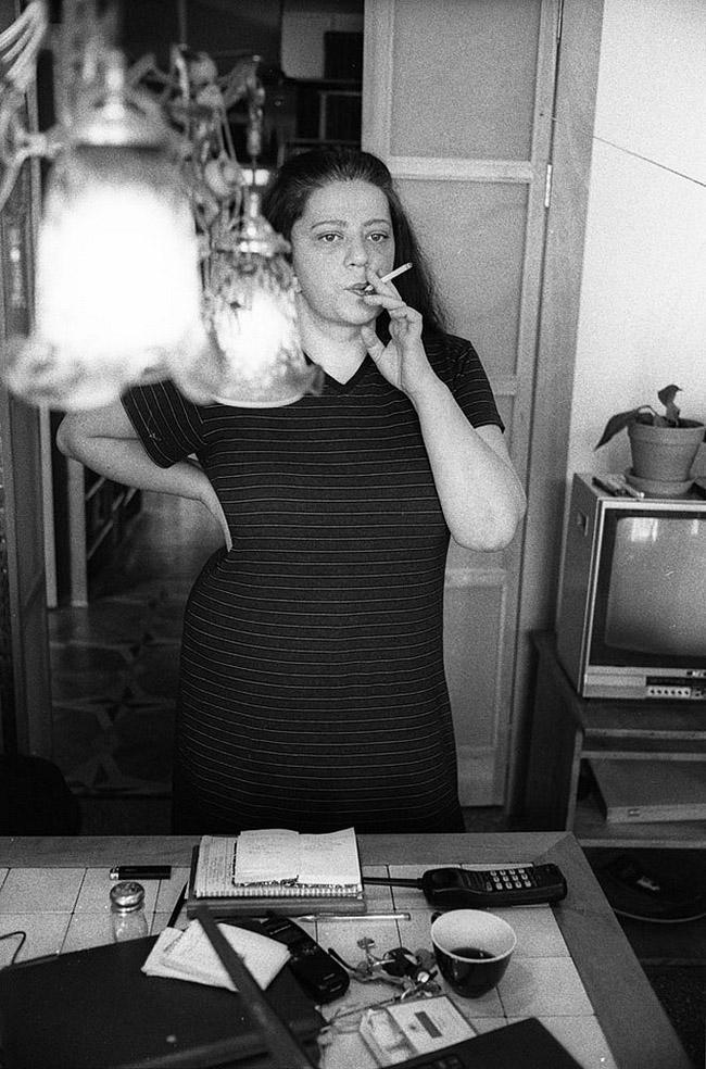 Татьяна Толстая, Москва, 2001 год.