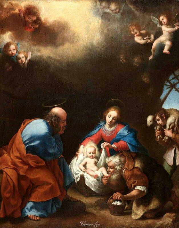 Флорентийский художник Карло Дольчи (111 картин)   Carlo Dolci