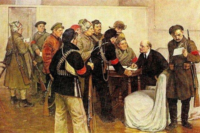 Почтовый блок СССР к 117 летию Ленина