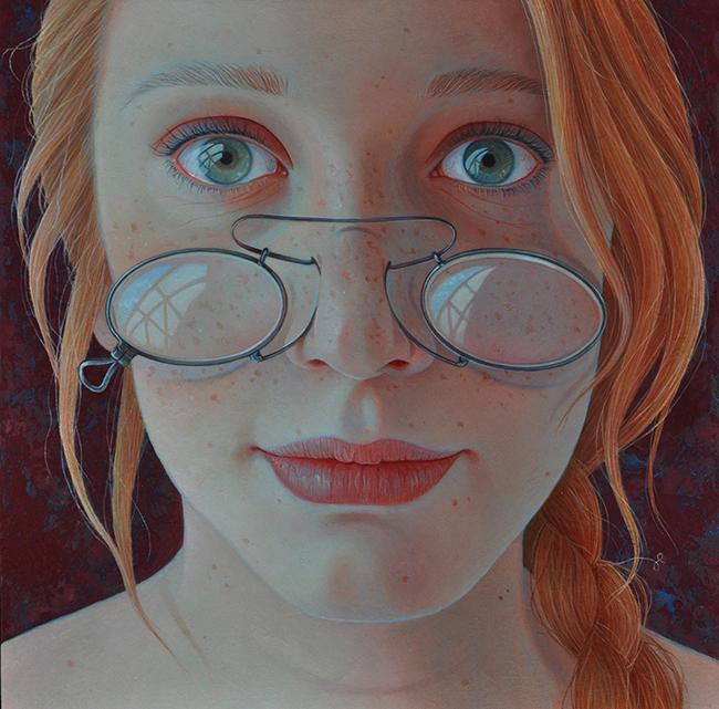 Джантина Пеперкамп. В итоге очередной автопортрет.