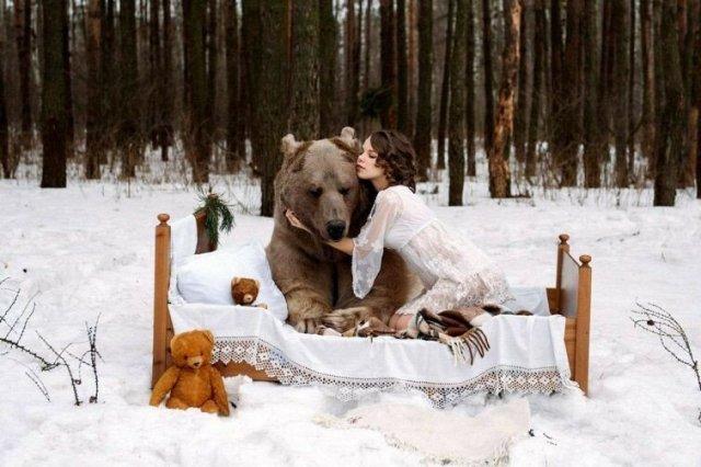 Случай, когда медведь напал на туристку в окрестностях Сочи