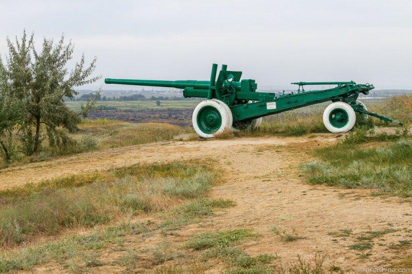 122-мм пушка, Военная горка, Темрюк